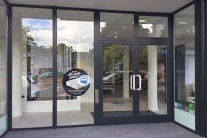 Automatische deur Maastrich